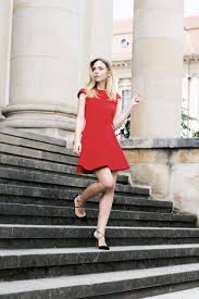 red a line dress miu miu louisa maureen fashion blog berlin