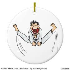 martial arts karate christmas ornament gift ideas pinterest