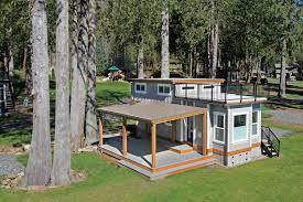 West Coast Homes Bellevue Park Model For Wildwood Lakefront