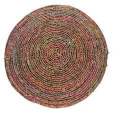 pavan round multi coloured woven rug 200cm buy now at habitat uk