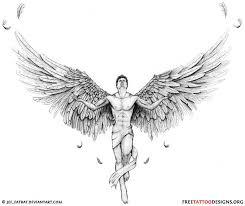 best 25 male angel tattoo ideas on pinterest angel wings art