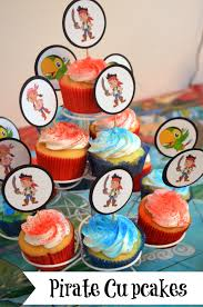 jake and the neverland party ideas pirate party cupcakes jake the neverland party ideas