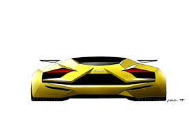 lamborghini sketch huracan early design sketches early huracan design 18 hr image