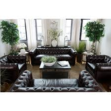 Leather Sofa Abbyson Anderson Leather Reclining Sofa Set Hayneedle
