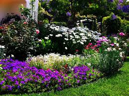 pretty flower garden ideas flower bed ideas the ultimate touch of the nature in your garden
