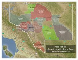 paso robles winery map understanding paso robles wine w maps wine folly