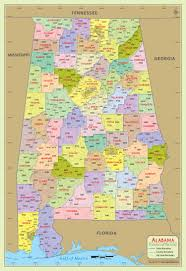 Zip Code Map San Jose by Buy Alabama Zip Code With County Map