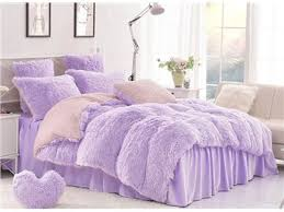 solid white simple style quilting bed skirt 4 piece fluffy bedding