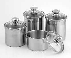 stainless steel canister sets kitchen stainless steel kitchen canisters kitchen ideas
