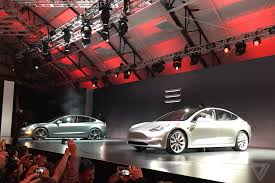 tesla model 3 announced release set for 2017 price starts at