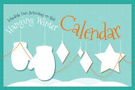 plan a with our winter activity calendar connections