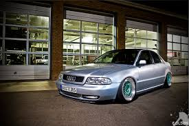 slammed audi wagon photo collection stanced silver b5 audi