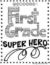 first grade wow superhero unit to the rescue