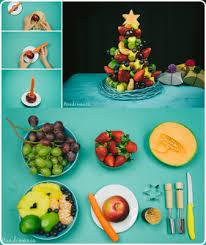 make a edible fruit christmas tree appetizer the homestead survival