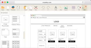 create a blueprint online free online wireframe and ui mockup tool creately