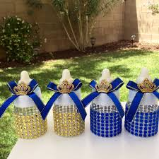 royal prince baby shower favors plastic bottles are 3 5 decorated with your baby shower theme