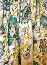 Peacock Curtains Floral Curtains Ladbroke Peacock Curtain Panels Grey Floral