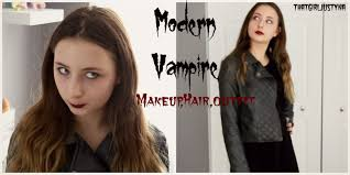 modern vampire halloween costume idea youtube