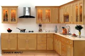 Cinnamon Shaker Kitchen Cabinets by Interesting Maple Shaker Kitchen Cabinets Storege 4 Zone Burner