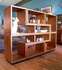 Expandable Room Divider Teak Modular Room Divider Shelf Covet Consign U0026 Design