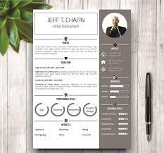 Microsoft Word Resume Sample Simple Resume Template In Ms Word Resume Templates Creative Market