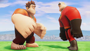 wreck ralph incredible epic fight disney infinity 2 0