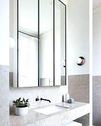 Black Mirror Bathroom Black Framed Mirrors For Bathroom How To Hang A Bathroom Mirror On