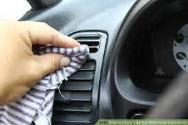 home remedies for cleaning car interior how to clean your car with home ingredients with pictures