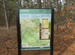Michaux State Forest Map by Gone Hikin U0027 Wharton State Forest Nj Batona Trail From Carranza
