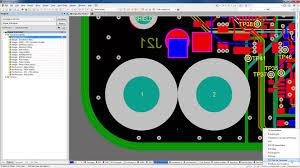 altium designer 15 1 pad u0026 via libraries youtube