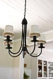 pottery barn knock off lighting dining room ceiling re do our pottery barn knock off chandelier