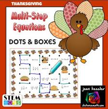 thanksgiving activities for middle school students free