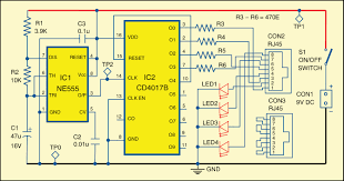 described here is a simple rj45 cable tester circuit which can be