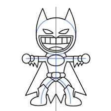 draw batman