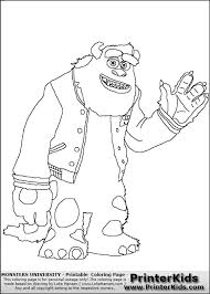 31 monsters coloring pages images