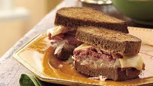 3 Crock Pot Buffet Recipes by Slow Cooker Reuben Sandwiches Recipe Bettycrocker Com