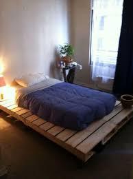 Ground Bed Frame Build Bed Frames Themselves Diy Bed Frame From Pallets Ground