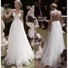 garden wedding dresses 2017 garden wedding dresses a line sheer v neck appliques