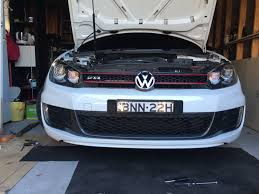 sold 2010 mk6 golf gti candy white manual 86 xxxkm stage 2