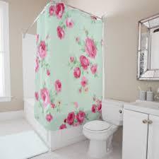 Shabby Chic Shower Curtains Shabby Shower Curtains Zazzle