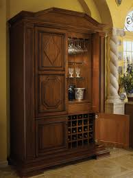 Wood Mode Kitchen Cabinets by Tall Bar Cabinet By Wood Mode Shown In Antique Sienna Finish On