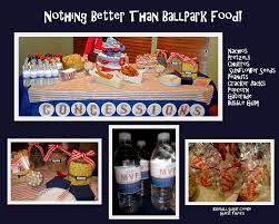 party accessories baseball baby shower
