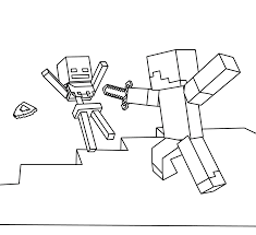 pretty design minecraft coloring books pages kids 224 coloring page