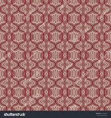 vector seamless simple moroccan pattern organic stock vector