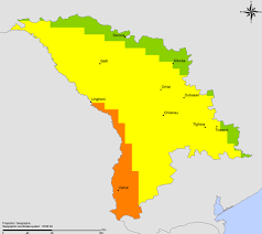 Moldova Map The Who E Atlas Of Disaster Risk For The African Region