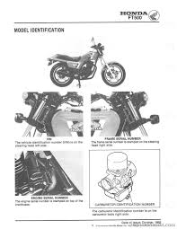 1982 1983 honda ft500 ascot motorcycle service manual
