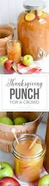 fun thanksgiving dishes thanksgiving punch for a crowd i heart nap time