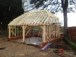 Hip Roof Barn by Orchard Priory Blog Landscape Design U0026 Build Old Wives Lees