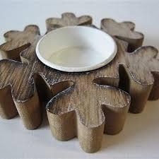 star shaped tea lights single wooden snowflake star shaped tea light candle holder