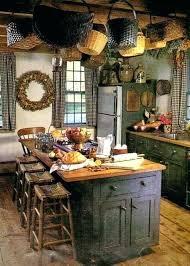 Primitive Kitchen Ideas Cool Primitive Country Kitchen Decor Endearing Best Primitive